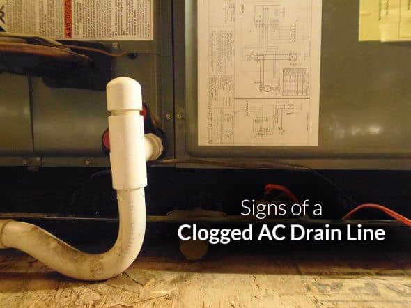 Signs Clogged Drain Line Louis Hvac Tips